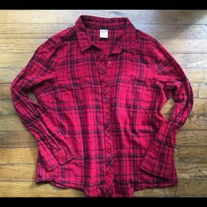 Red and Black Flannel, Good Condition!!